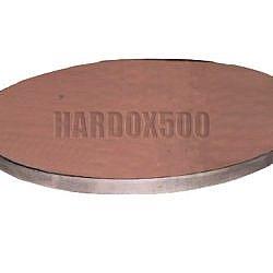 Hardox500 Rund-Brenn-Zuschnitt