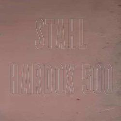 Stahl Hardox 500